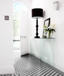 Black And White Tiles Victorian Black White Chequer Tile Topps Tiles