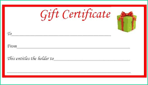 Holiday Gift Card Template Latest Holiday Gift Certificate Template Word For Free Christmas