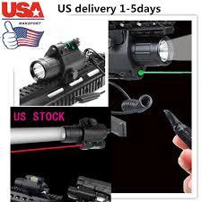 Tactical Shotgun Laser Light Combo Led Flashlight 2in1 Cree Q5 Red Green Laser Sight Combo For Shotgun Ar Us Hunt