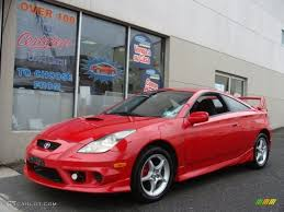 2003 Absolutely Red Toyota Celica GT-S #75786958 | GTCarLot.com ...