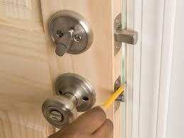 install entry door knob. install entry door knob e