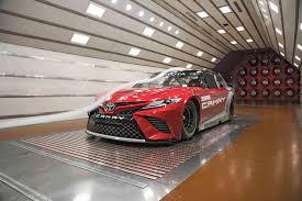2018 chevrolet nascar race car.  nascar 2018 toyota camry nascar prototype in aerodyn wind tunnel 03 to chevrolet nascar race car t