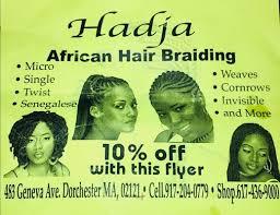 hadja african hair braiding 483 geneva