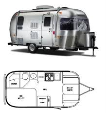 Small Picture The Vintage Airstream Small Travel Trailer Floor Plan Vintage