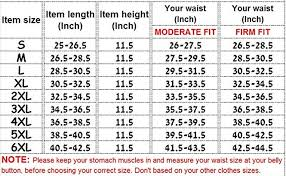 Belly Size Chart Belly Blaster Band Slimmerme