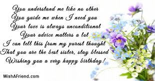 Quotes For Sister Birthday New Sister Birthday Quotes Page 48