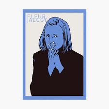 Fleur jaeggy, lettura a ritroso, su fractaliaspei.wordpress.com Fleur Jaeggy Poster By Falknordmann Redbubble