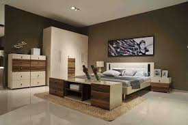 One Wall Color Bedroom Small Size Room Decoration Space Saving Furniture Design Ideas One