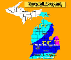 michigan evening weather update expect freezing rain for the