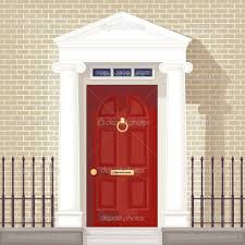 Decorating front door clipart pictures : Red Front Door Clipart - ClipartXtras