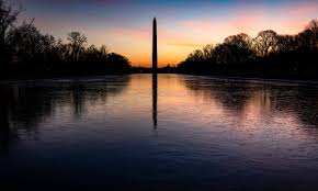 The national mall is currently closed to visitors due to security. Joe Biden To Hold National Memorial Service For Us Covid Victims Joe Biden The Guardian