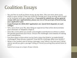 a angelou presentation  14 coalition essays