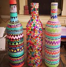 7 Diy Glass Bottle Decor Ideas Diy To Make Decorated Glass Bottles
