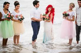 Small Picture If Ariel And Prince Eric Got Married IRL This Is What It Would