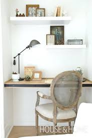 office floating shelves. Office Floating Shelves A Small Home Nook With And  Desk Covered V