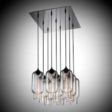 curtain graceful modern chandelier lighting 18 unique 9 art glass bottle style pendant ceiling lights with