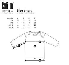 Size Chart Hektik Cool Collectibles