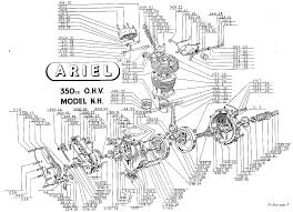 17 best images about machine ducati amusement park ariel 350 single engine diagram