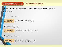 quadratic formula solving quadratics