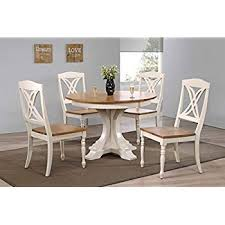 iconic furniture 5 piece deco erfly back dining set 45 x 45 x