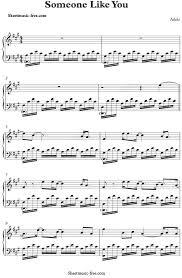 adele sheet music someone like you sheet music adele adele sheet music and piano