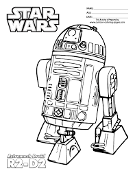 Small Picture R2D2 Coloring Page Coloring Home