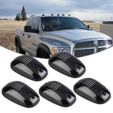 4x4 Led Lights Ebay Details About 5pc Smoked Lens Blue Led Cab Roof Marker Running Lamps Lights For Truck Suv 4x4