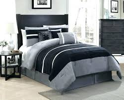 black and grey bedding black solid grey bedding sets solid black grey orange bedding