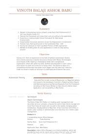 Banking Resume Examples Cool Qa Analyst Resume Samples VisualCV Resume Samples Database