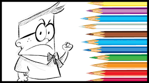 How To Draw Melvin Sneedly From