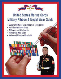 U S Marine Corps Ribbon And Medal Wear Guide Medals Of