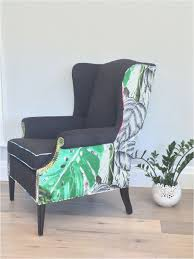 blue wingback chair. 23-blue-wingback-chair-plan-furniture-used-wingback- Blue Wingback Chair
