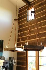 chandeliers barn wood chandelier wood beam chandelier reclaimed wood and metal chandelier