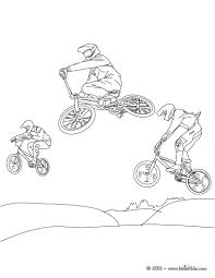 Style Racing Bike In Summer Coloring