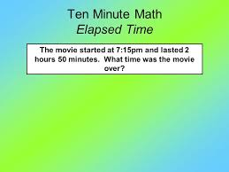 Ten Minutes Countdown Countdown Warm Up Ten Minute Math Largest Decimal You Will Have 30