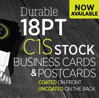 18 Pt Card Printing 18 Pt Business Card Printing 18 Pt Postcard