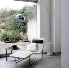 the manhattan home design marble arco lamp provides directional and adjustable down lighting utilizing a 60 100 watt bulb its adjustable chrome shade and arco lighting