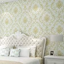 JFIA65A Non-Woven Wallpaper,3D Embossed ...