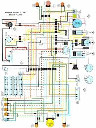 honda ct70 wiring diagram the wiring colored ct70 wiring diagram image about