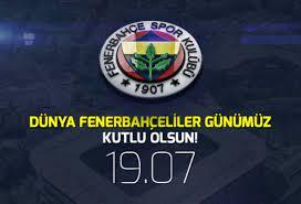 Sarı Lacivertliler, Dünya Fenerbahçeliler Günü'nü Kutladı - onedio.com