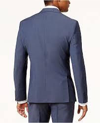 Macys Mens Suit Size Chart Mens Slim Fit Active Stretch Suit Jacket Created For Macys