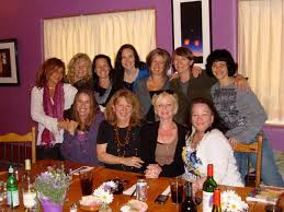 Karen Paull, Wendy Robbins, and some friends at a great restaurant in Taos,  Gutiz, owned by our gal-pal, Jennifer Peterson | Red cape, Great  restaurants, Gal pal