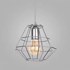 Подвесной <b>светильник TK LIGHTING 4202</b> DIAMOND SILVER ...