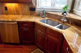 saturnia granite and cherry cabinets