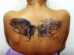тату крылья значение фото эскизы и примеры для девушек и парней