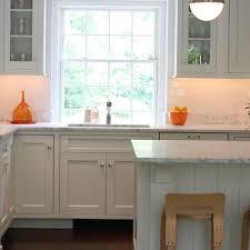 Kitchen with Orange Accents
