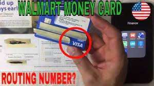 money card routing number