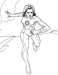 Small Picture Printable coloring pages Invisible Woman Superheroes