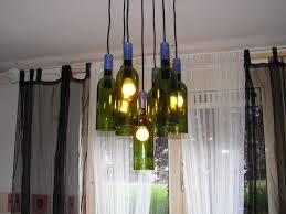 Wine Bottle Light Fixture Home Lighting Ideas Expressed With Wine Bottle Crafts