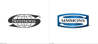 simmons mattress logo. Simmons Logo, Before And After Mattress Logo